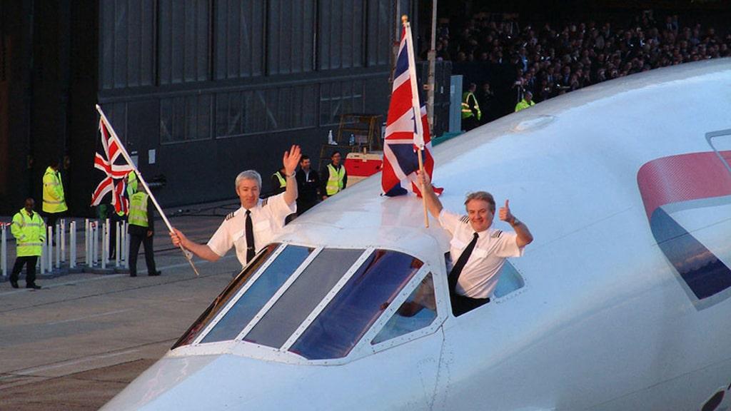 Sedan flygplanet landade 26 november 2003 har det stått stilla på flygplatsen i Bristol.