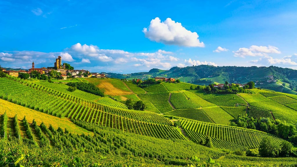 Livsnjutarparadiset Piemonte är känt för vackra vyer, fantastiska viner och tryffel.