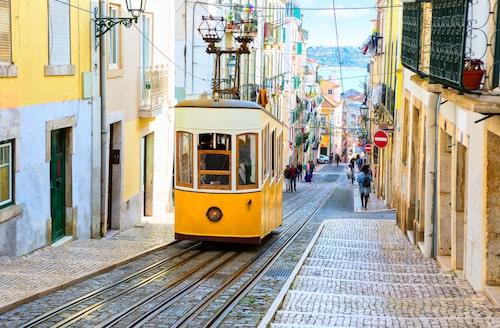Missa inte att åka spårvagnarna när du är i Lissabon