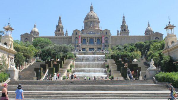 Katalanska Konstmuseet ligger inhyst i Nationalpalatset.