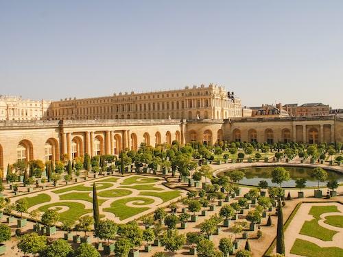 Det magnifika slottet i Versailles placerar sig som nia bland de tio mest populära sevärdheterna 2018.