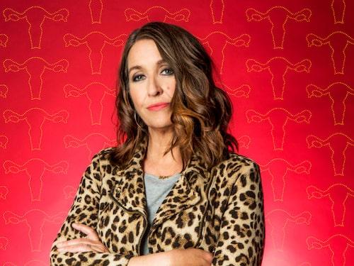 """Malin Jacobson Båth leder programserien """"Klimakteriet - det ska hända dig med"""" i SVT. Hon fick idén när första vallningen kom."""