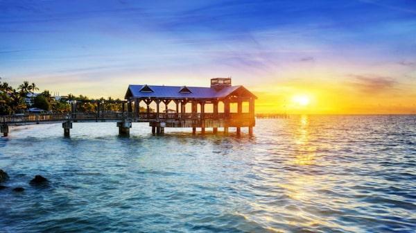 Piren i Key West.