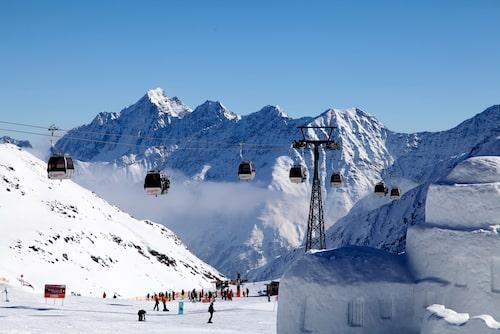 Stubai Glacier är områdets huvudskidort – på grund av glaciären är det ofta kallt och soligt. En bra kombo med vintervandring.