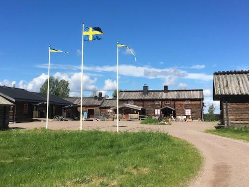 Livskvalitet på Knappgården i Dalarna.