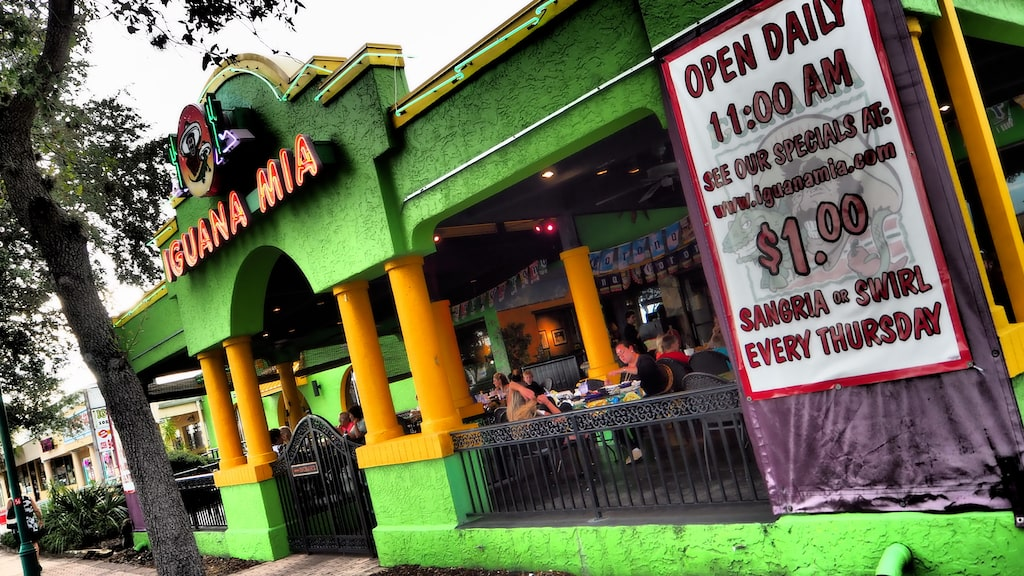 ...och mexikanska Iguana Mia.