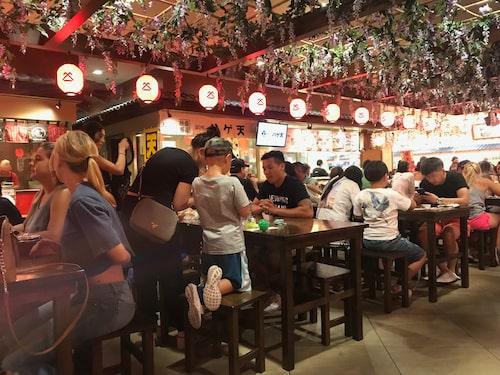 Ala Moana centers japanska matavdelning.