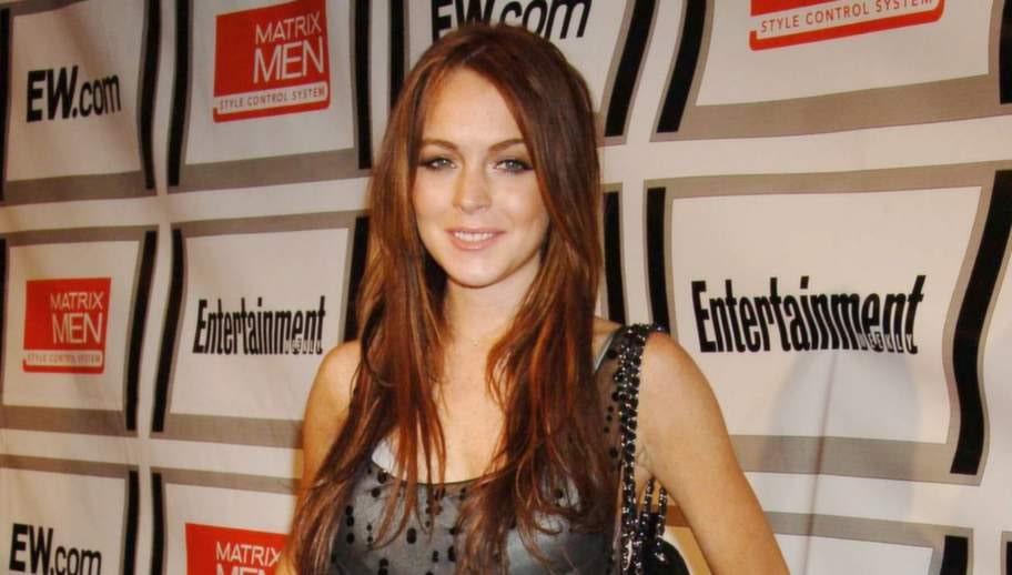 Skådespelerskan Lindsey Lohan.