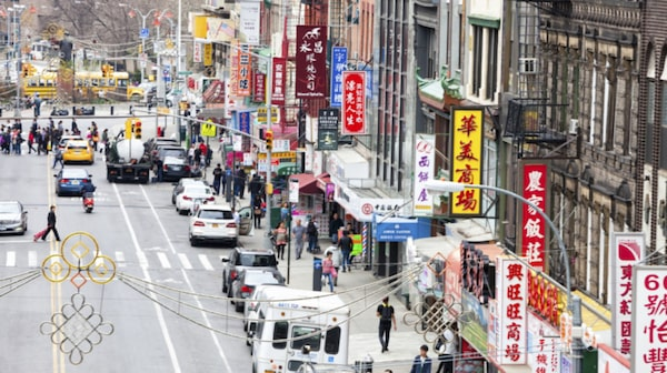 "Ju längre österut du tar dig desto mer ""hardcore"" Chinatown."
