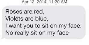 Dating öppnings meddelande
