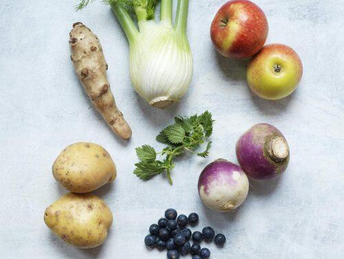 Färsta och näringsrika råvaror är avgörande.
