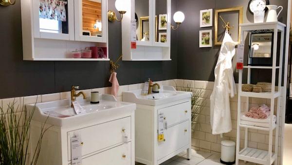 Sätt din egen prägel på möblerna och mixa dem med andra märken.