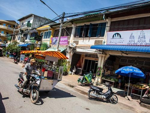 Kampot är en charmig småstad som lockar allt fler besökare.