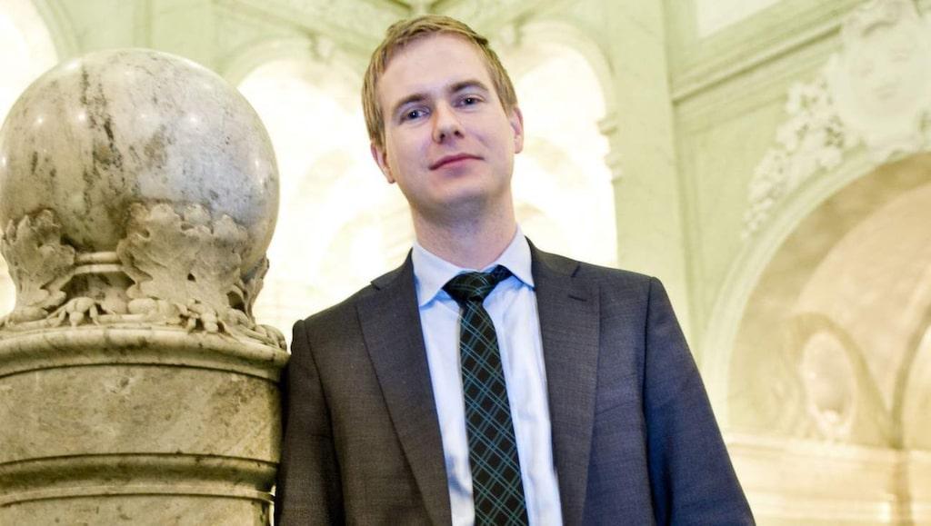 Utbildningsminister Gustav Fridolin.
