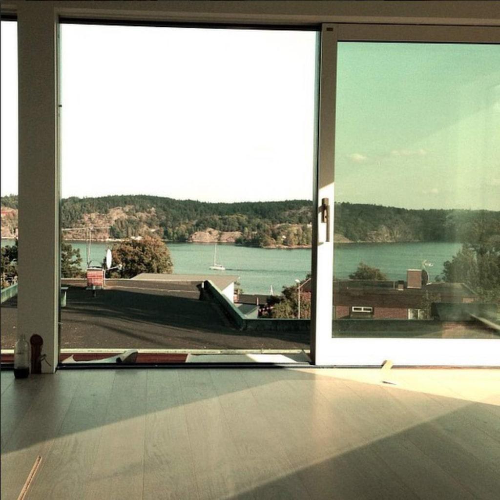 Den här bilden kommer från Pierres instagram där han visar en del av huset han renoverar.