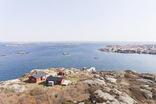 Ön Vedholmen ligger utanför Orust.