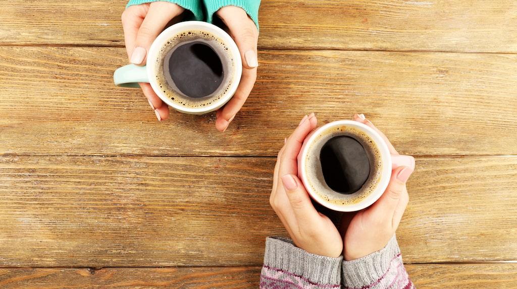 …likaså kaffe…