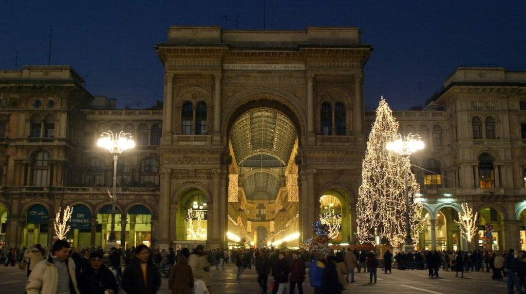 Julrusch i Milano.