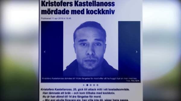 Desperat flykt fran mordaren