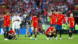 Nej spanien nu vinner ni inte vm guld
