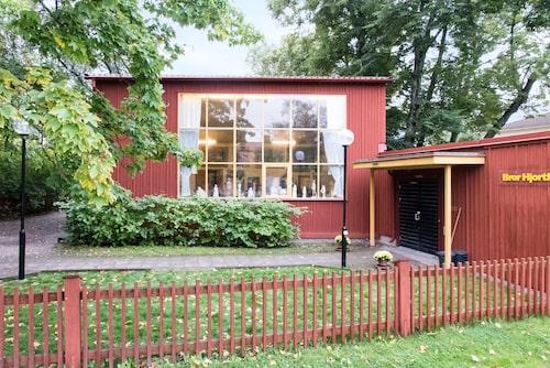 Bror Hjorth levde och arbetade här i huset i tjugofem år.