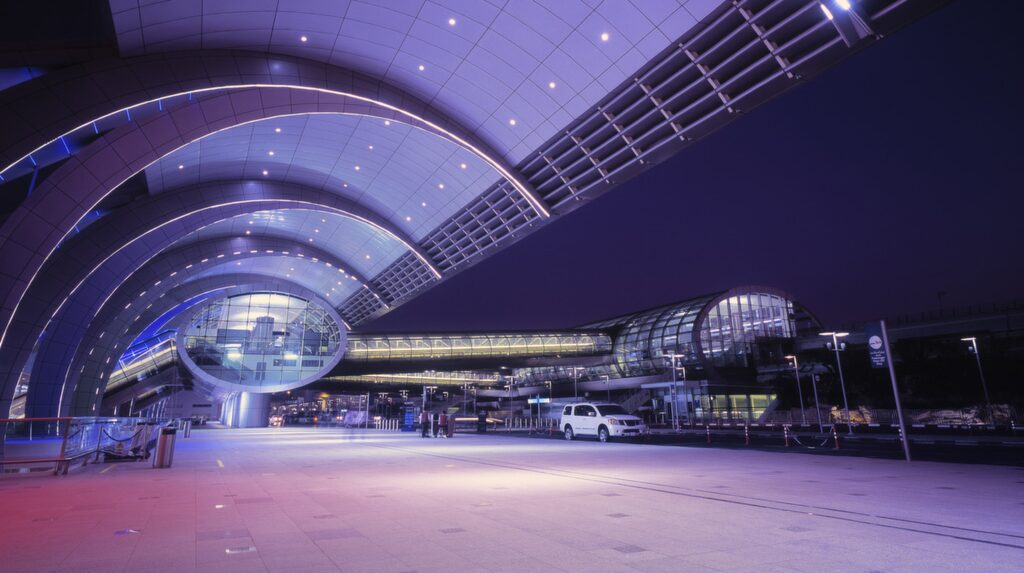 Nya flygplatsen ska ta 220 miljoner besökare om året.