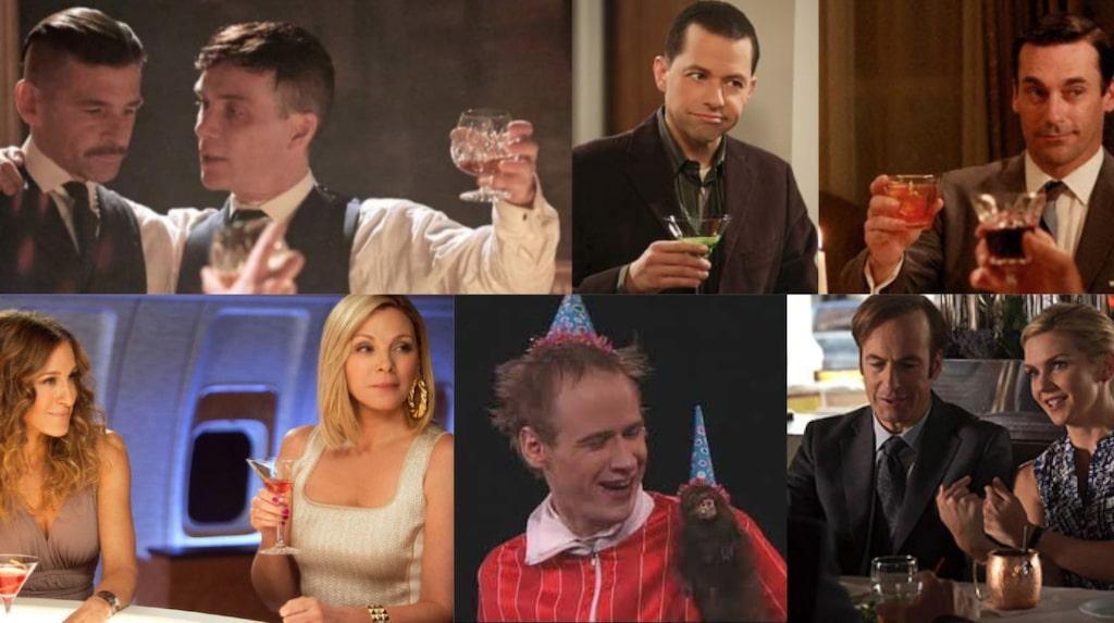 Har du koll på vad som dricks i tv-serierna?