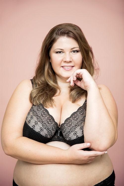 """Linda-Marie Nilsson har även skrivit en boken """"Så lärde jag mig att älska min kropp"""" om att just tycka om sig själv som man är."""