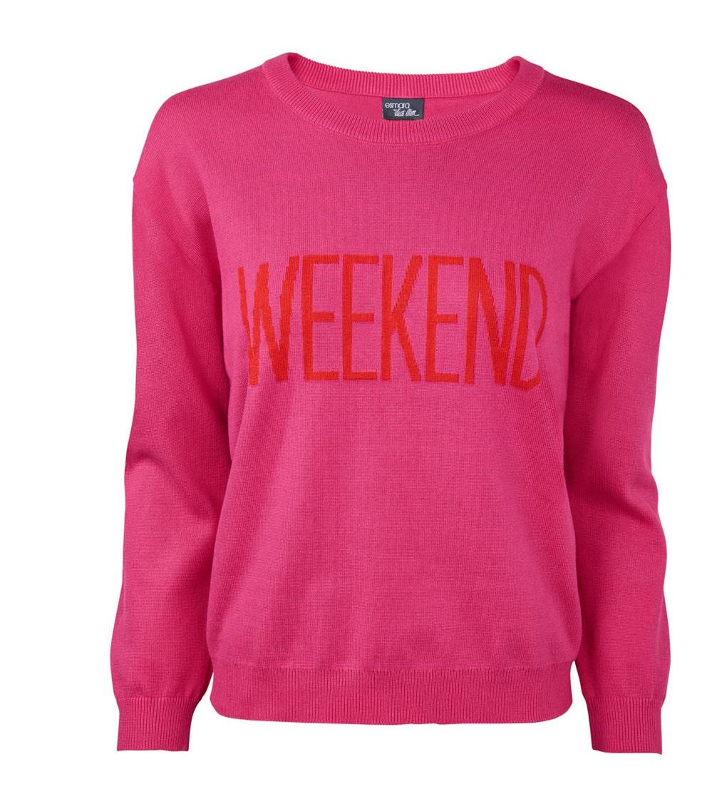 Härligt rosa tröja, finns i flera färger.