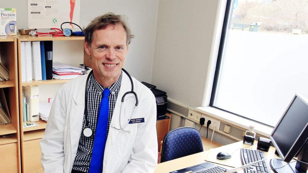 <p>Läkare Johan Armfelt.</p>