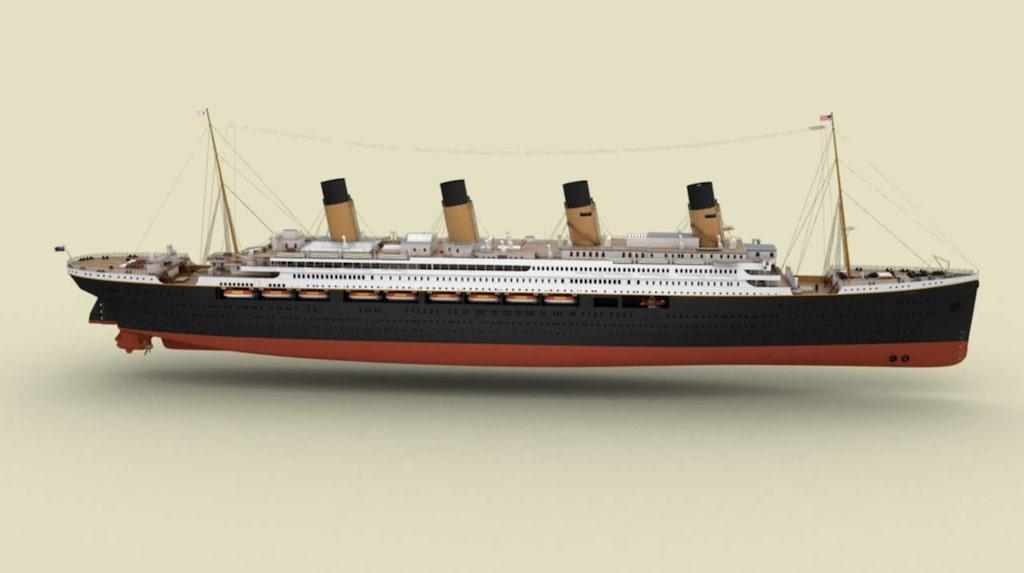 En nästan exakt kopia av det berömda fartyget ska byggas på uppdrag av en australisk miljardär.