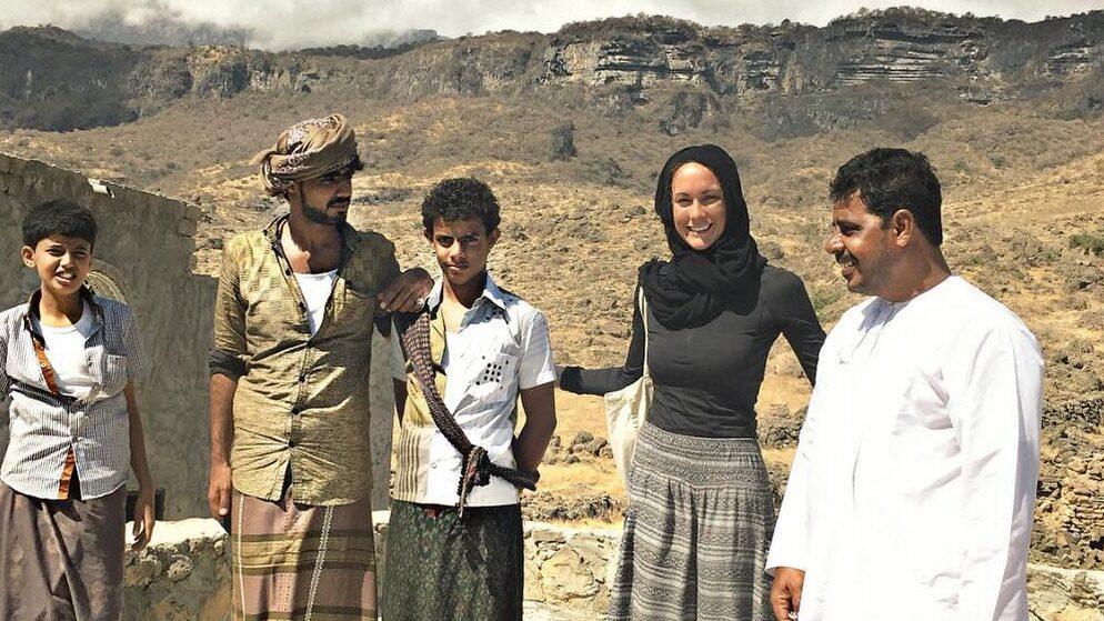 Cassie de Pecol befinner sig här i Al Mahrah, Yemen.