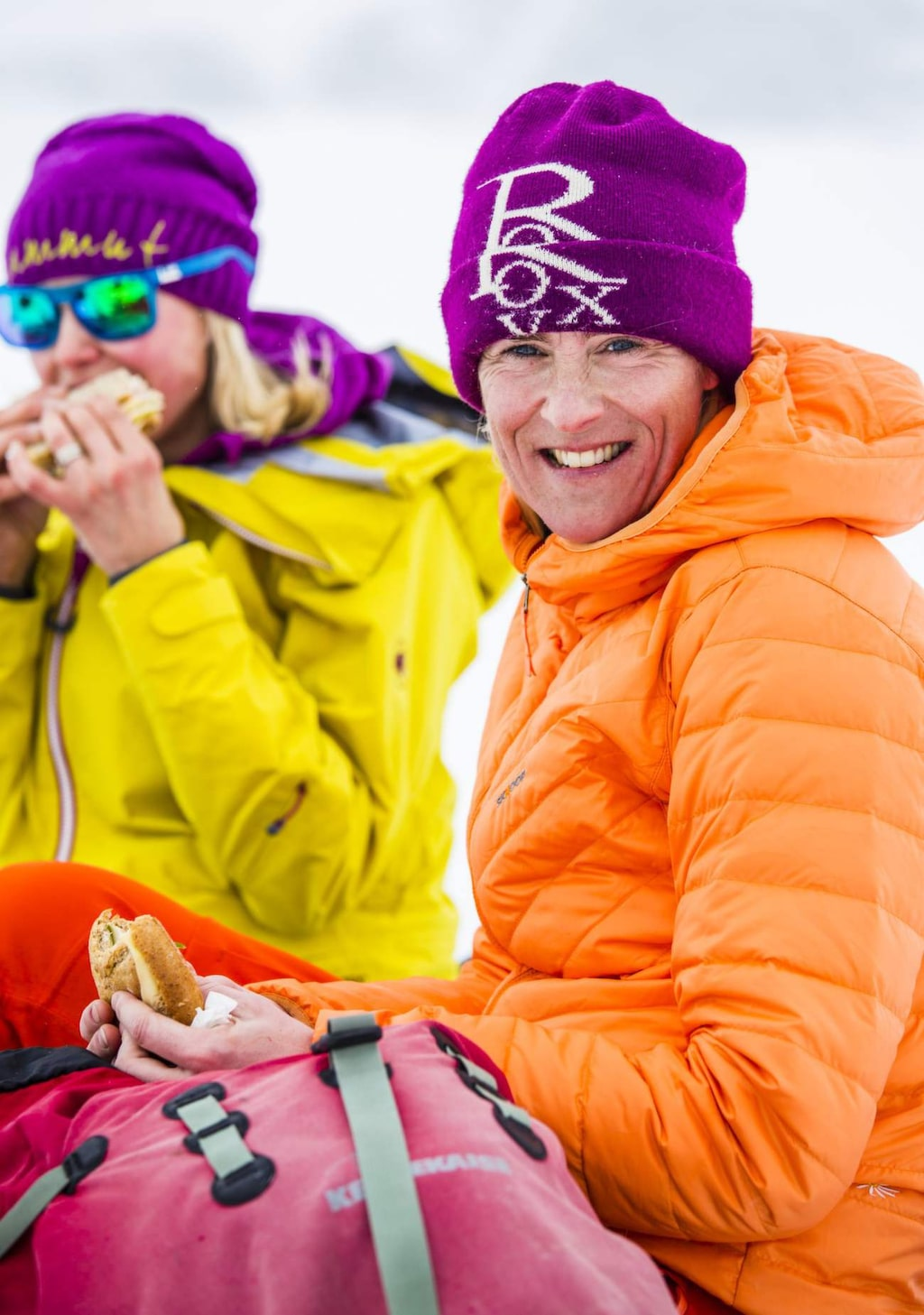 Tillsammans med Jessica Thorelius och Michaela Fröstad Askergren är målet att sälla sig till skaran som turar upp på Kebnekaise med skidor på.