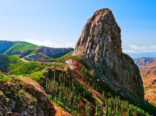La Gomera har härliga vandringsmöjligheter.