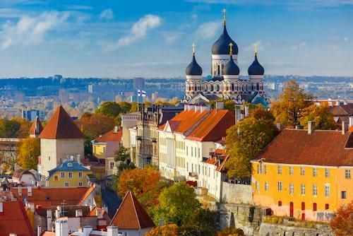 Budgetvänliga Tallinn.