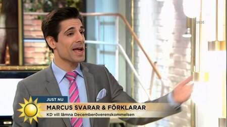 Tv4 I Krismote Med Marcus Oscarsson