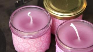 göra egna ljus med doft