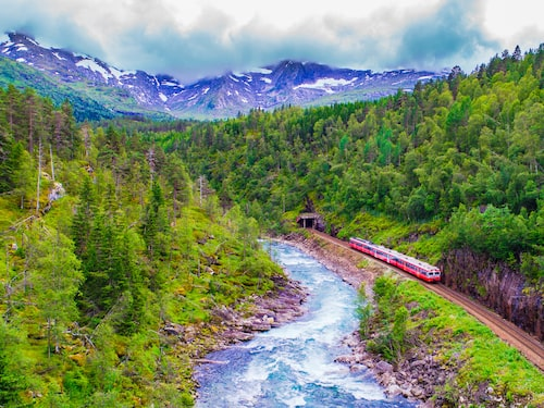 Titta på en tågresa i sju timmar – varför inte?