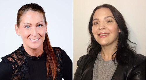 Experterna som ger dig smarta tips för din torra hud: Hudterapeuterna Linda Pierson och Dominika Newelska. De rekomenderar bland annat produkter som innehåller hyaluronsyra, glycerin, urea/karbamid och mjölksyra.
