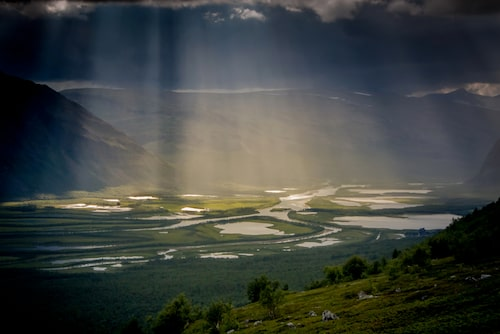 Laponia upptogs på Unescos världsarvslista år 1996.