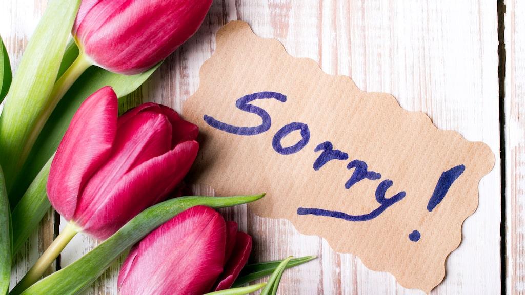 Men hur ledsen du än känner dig så är det ofta svårt att förmedla i faktiska ord.