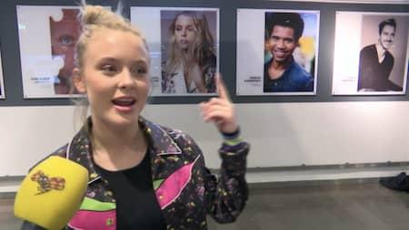 4cfd5bf280f Zara Larsson blir nytt ansikte i Arlandas porträttserie