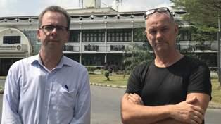 Svensk greps med knark i thailand