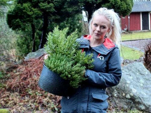 Trädgårdsmästare Anna Theori.