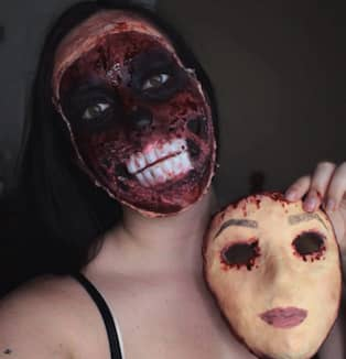 Laskiga Halloween Sminkningar.16 Halloween Sminkningar Som Kommer Ge Dig Rejala Mardrommar