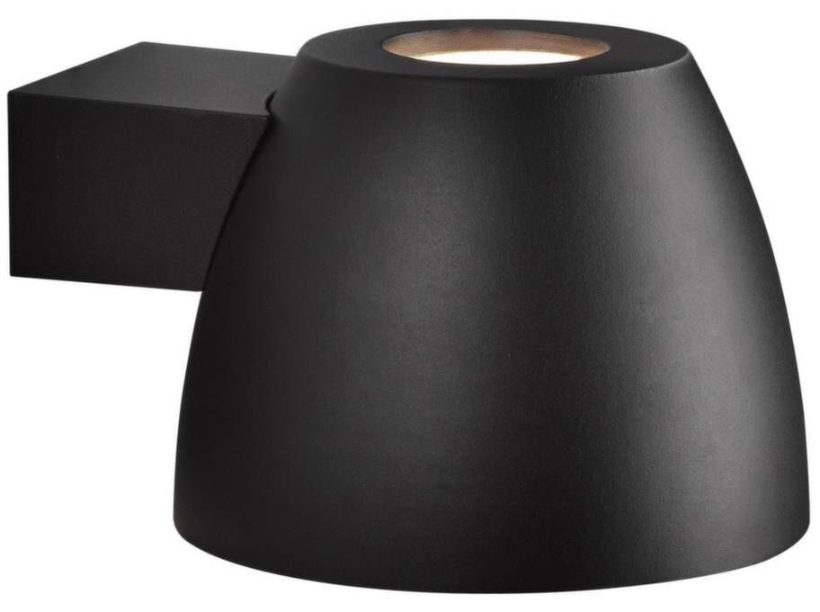 Stilrent. Väggbelysning i aluminium med både nedåt- och uppåtriktad belysning, 399 kronor, Clas Ohlson.
