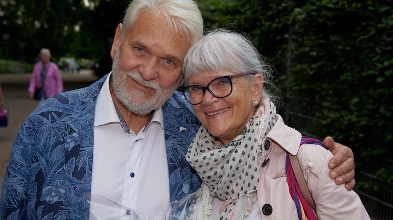 """Monica Forsberg och Hasse """"Kvinnaböske"""" Andersson har även hus i Florida."""