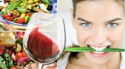 Medelhavskost innehåller mycket fleromättade och omättade fettsyror & långsamma kolhydrater.