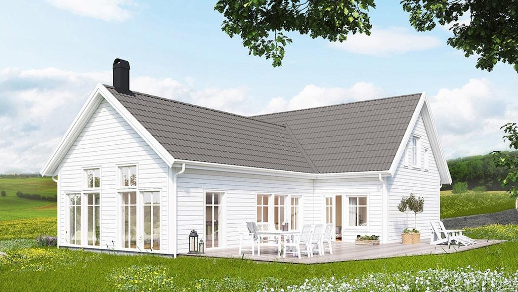 Villa Vadstena från Trivselhus.