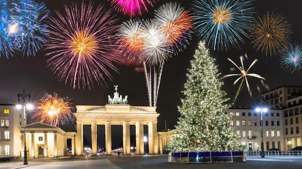Berlin är överlägsen Europamästare när det gäller att fira nyår.